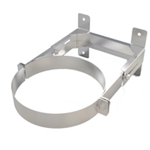 """Wall Support 80-130mm Twin Wall 6""""(150mm)"""