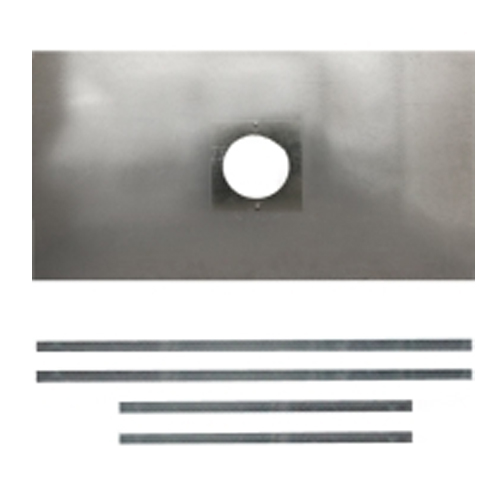 """Chimney Register Plate 5"""" and 6"""" size 900mm x 495mm"""