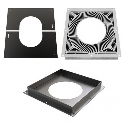"""6"""" Fire Stop & Finishing Plates"""